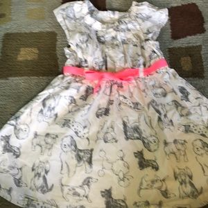 Carter's 2t dress with dogs